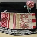 ruusu-unelma tuunattu laukku