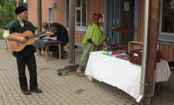 Vantaan Steiner-koulun keskiaikamarkkinat