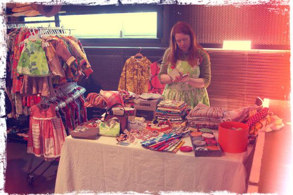 Nuttu-Liinan pöytä Ekodesign-markkinoilla 12.5.2012