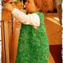 Frida on saanut uuden Nuttu-Liina -mekon