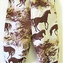 74cm ruskea hevos-kuvio