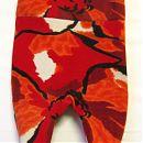 62cm retro-oranssit potkuhousut