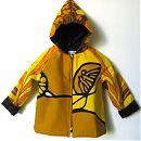 98cm keltakuvioinen takki