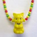Keltainen kissa-helminauha