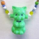 Vihreä kissa -kaulakoru