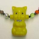 Keltainen kissa- helminauha